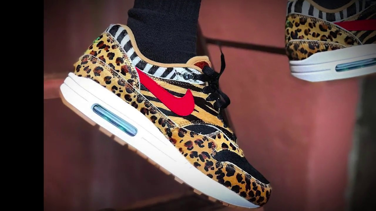 huge inventory 61c58 edf1b Atmos x Nike Air Max 1 Animal 2.0