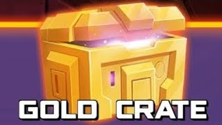OPENING GOLD CRATES Angry Birds Transformers