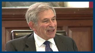 Our World in the Last 100 Years | Paul Wolfowitz | Oxford Union