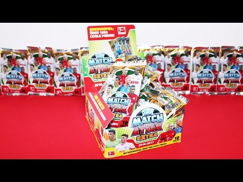 OPENING MATCH ATTAX EXTRA 2016 2017 DISPLAY FULL BOOSTER BOX