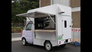 軽トラックオートマの移動販売車仕様 キッチンカーなどに架装しよう(*^^*)中古車ご紹介
