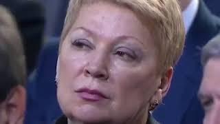 Министра просвещения Васильеву «перекосило» от слов Путина