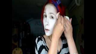 nori klobučar(mad hatter) makeup/efect leče