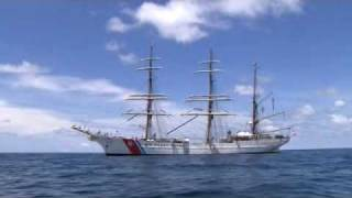 US Coast Guard Cutter Barque Eagle - America's Tall Ship