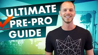How To Plan A Video Shoot With The Ultimate Pre Production Checklist
