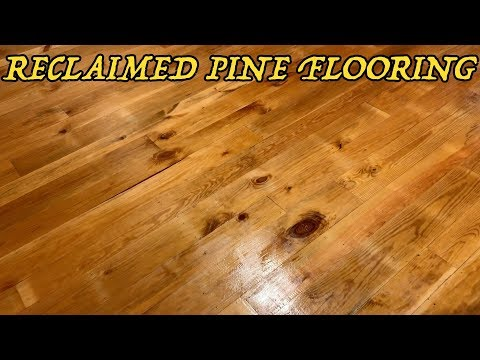 How to Make AMAZING Flooring from Reclaimed Lumber