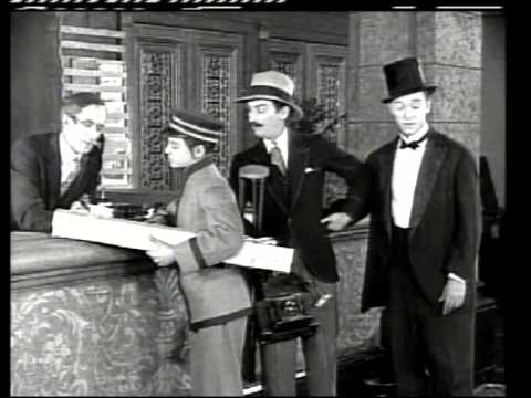 ON THE FRONT PAGE 1926 STAN LAUREL