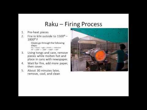 The Raku Process for Greater Latrobe Senior High School