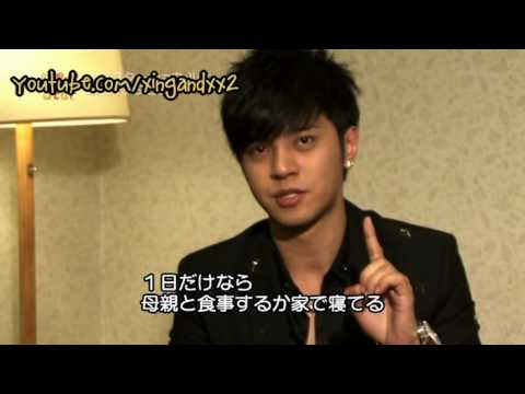 羅志祥 Show Luo interview in Japan 2010 part 1/3