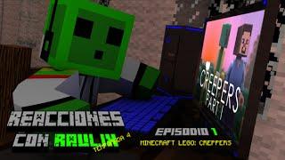 Lego minecraft:creppers (forlorncreature) reaccion en español