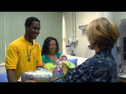 U.S. Naval Hospital Guam Welcomes First 2013 Military Baby