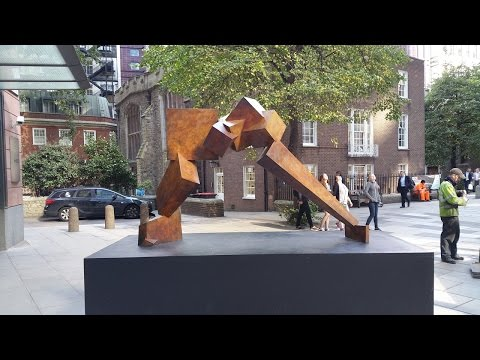 Bruce Beasley Breakout II Sculpture In The City 2015 London October 2015