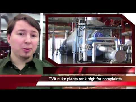 TVA nuclear plants rank highest for employee complaints