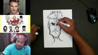 How To Draw Basic Caricature Head Shapes