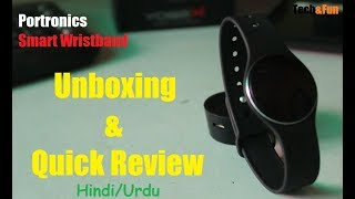 Portronics Smart Wristband Yogg X Unboxing amp Quick Review Tech amp Fun
