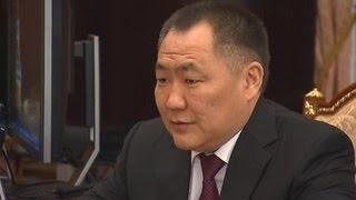 Глава Тувы досрочно ушел в отставку