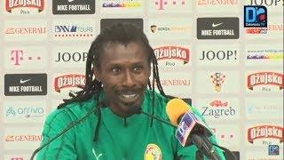 [REPLAY-Osijek (Croatie) ] Revivez la conférence de presse du coach Aliou Cissé