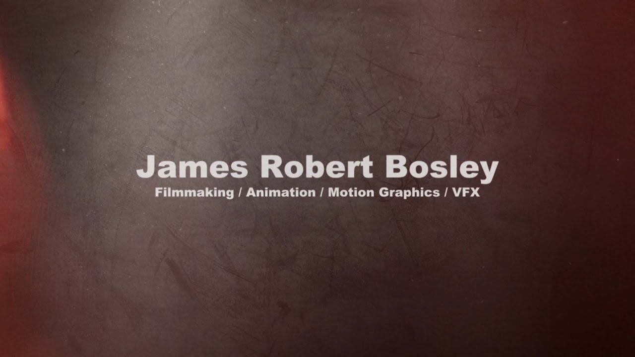 James Robert Bosley 2018 Reel