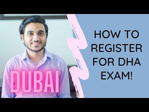 How to apply for DHA Exam (Dubai Health Authority)