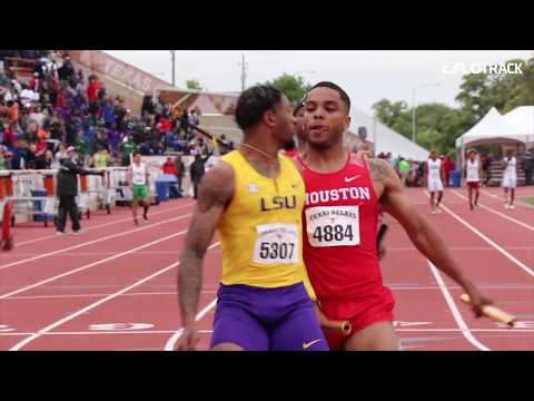 LSU And Houston Get Physical At Texas Relays