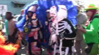Pt 2 Mardi Gras 2010: Monk Boudreax and Bo Dollis