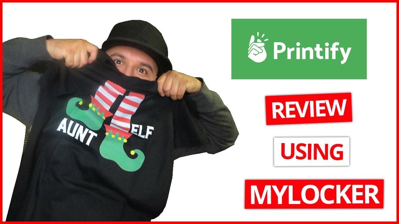Printify Review Using Mylocker | Etsy