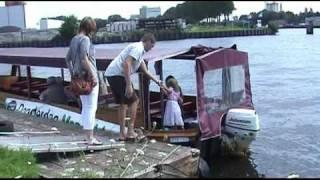 2010 Naar Amsterdamse Meppeldag met de watertaxi