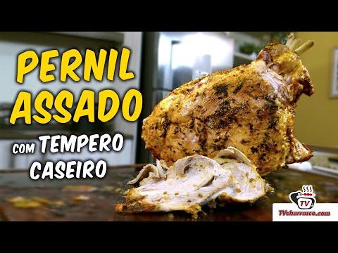 Pernil Assado Com Tempero Caseiro - TvChurrasco