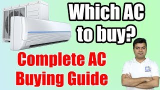 AC Buying Guide, Buy Cheap AC Online, No Cost EMI, GET Cash Back and Discounts