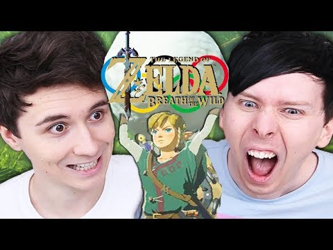 Dan vs Phil:  ZELDA OLYMPICS!