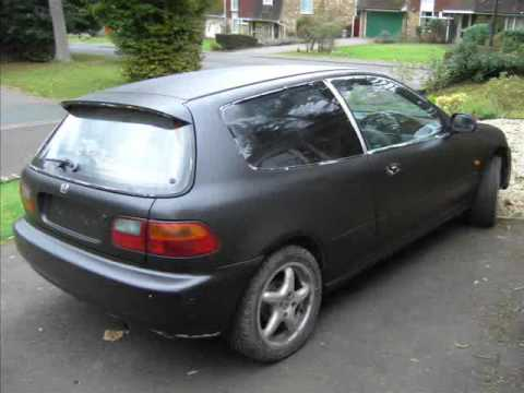 Rustoleum Flat Black Car Paint Job