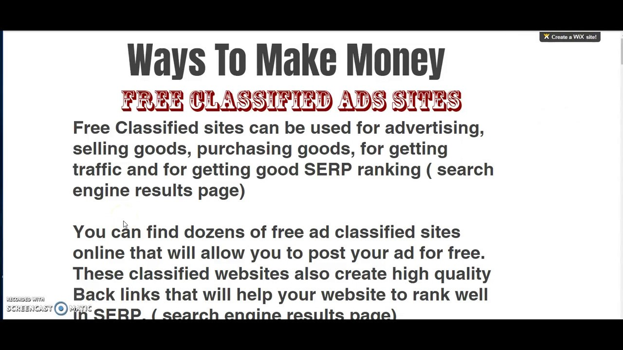 post ads free tips for effective craigslist marketing places to post free online classified ads