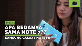 Unboxing dan Hands-on Samsung Galaxy Note FE Indonesia