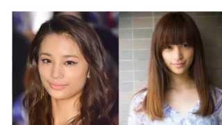 モデルで女優の高橋メアリージュンと、その妹で同じくモデルの高橋ユウ...
