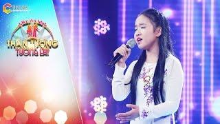 Thần tượng tương lai | tập 3: Cô bé Kim Chi tái xuất ấn tượng với ca khúc Đèn khuya