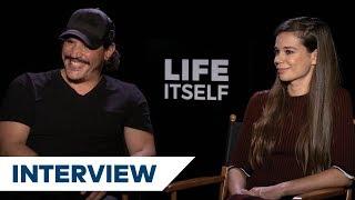 Do Life Itself's Sergio Peris-Mencheta & Laia Costa Have Any Life Advice?   TIFF 2018