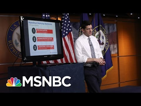 GOP To Reset Obamacare Repeal Negotiations With Help From Steve Bannon | Morning Joe | MSNBC