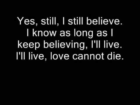 I Still Believe-karaoke (Duet with Ellen)