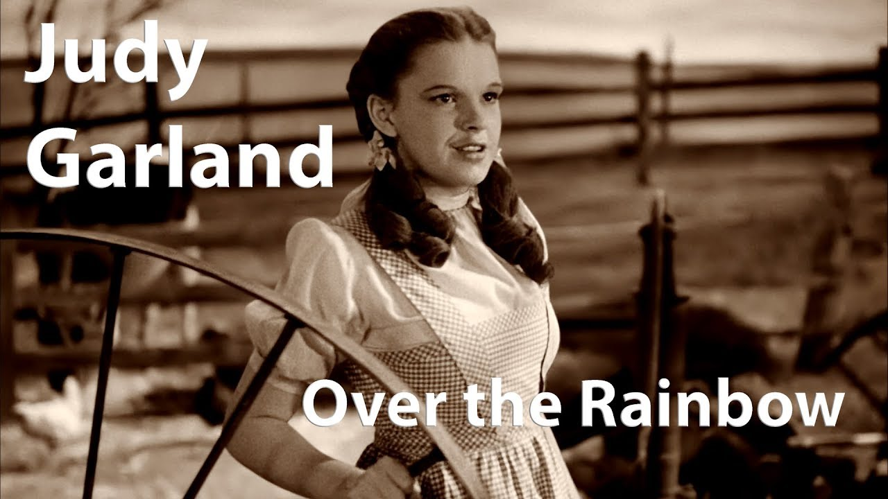 Judy Garland - Over the Rainbow (1939) [Restored]