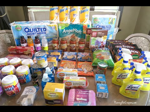 How To Use Coupons at Target (Coupon Shopping Video) Using Printable Coupons 9-13