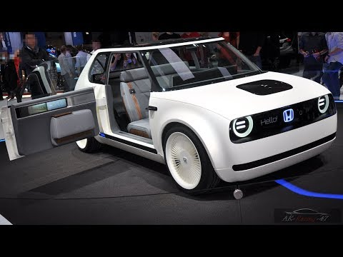2019 Honda Urban EV Concept | Interior Exterior | Elektro-Honda | NEW 2018