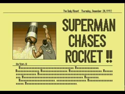 Mega Drive Longplay [503] Superman