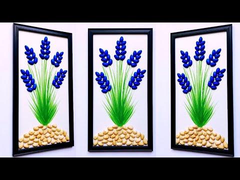 DIY Beautiful Wall Decors with Pistachio Shell | Pista Shell Craft | Home Decor Ideas  | #57 |