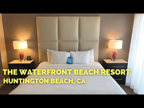 The Waterfront Beach Resort | Oceanfront King Bedroom | Huntington Beach