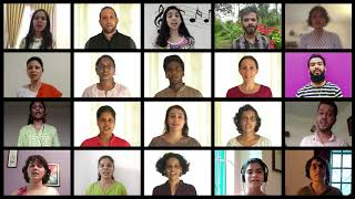 Jana Gana Mana / National Anthem of India GU CHOIR