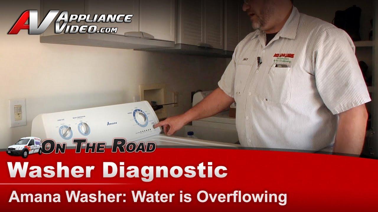 Amana Washer Repair Water Is Overflowing Ntw4501xq0