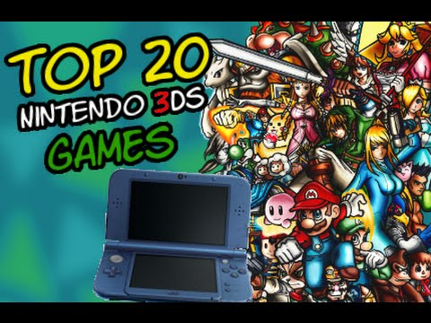 Top 20 3DS Games | byJannik - YouTube