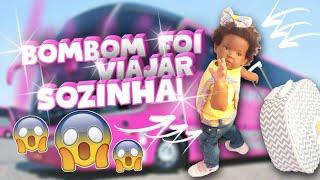 Обложка на видео о Minha Bebê Reborn/ viajou para o Rio de Janeiro!!!