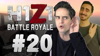 IK HOOR VOETSTAPPEN! - H1Z1 Battle Royale #20 ft. ToastmanGames