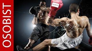 OSOB.Основные виды ударов по боксерской груше.